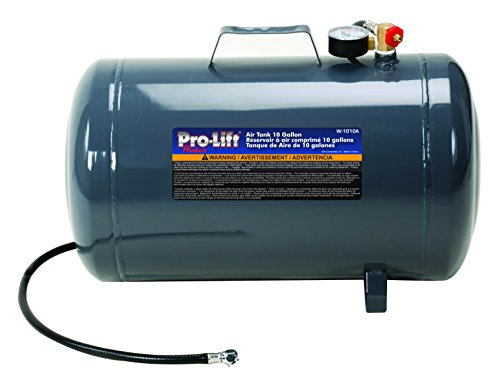 (Pro-LifT W-1010A Grey Air Tank - 10 Gallon Capacity)