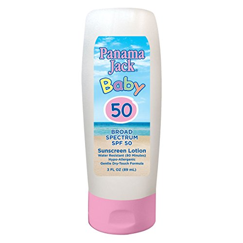 Panama Jack Baby and Kids Sunscreens Multi-Packs (Pack of 1, Baby Broad Spectrum Sunscreen Lotion)