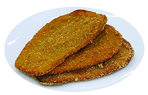 Vertullo Imports 1/4'' Breaded Naples Cut Eggplants Cutlet 5 lb (Pack of 2)