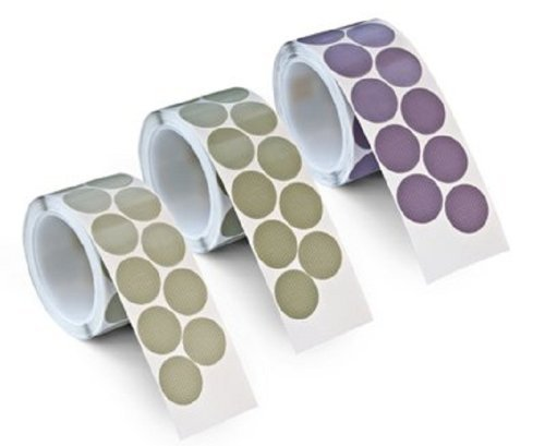 3M(TM) Trizact(TM) Finesse-it(TM) Film Disc Roll 464LA, Pressure-Sensitive Adhesive (PSA) Attachment, Silicon Carbide, 1-1/4'' Diameter, A7 Grit  (Pack of 1)