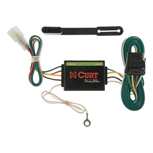 CURT 55372 Vehicle-Side Custom 4-Pin Trailer Wiring Harness for Select Chevrolet Tracker, Suzuki Grand Vitara, Sidekick, XL7 ()