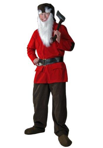 [Fun Costumes Dwarf Costume Standard] (Adult Brown Dwarf Costumes)