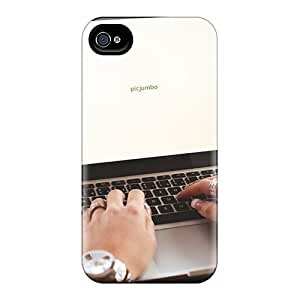 New Case888cover Super Strong Girl Typing On Macbook Cases Covers For Iphone 6