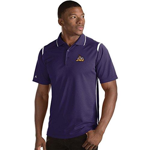Antigua Purple Classic Shirt - ANTIGUA MEN'S JAMES MADISON JMU DUKES MERIT POLO SHIRT PURPLE/WHITE XXXL