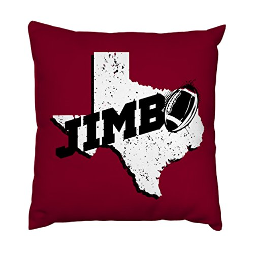 AnFuK Jimbo Fisher Throw Pillowcase Square Pillow Cover 18x18 Inch