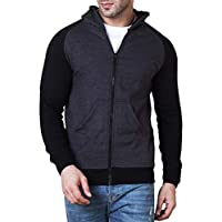 Veirdo Cotton Jacket for Men – Black
