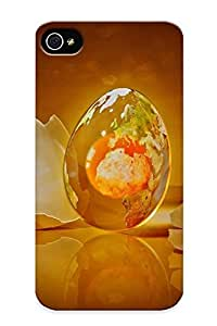 New Fashion Premium Tpu Case Cover For Iphone 4/4s - The World In An Egg Case For New Year's Day's Gift