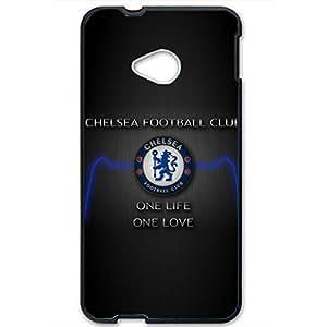 Popular Design FC FC Barcelona Team Logo Phone Case Cover For Htc One M7 3D Plastic Phone Case