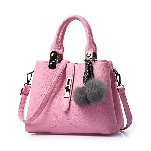 à PU La Mode Paquet 14cm 4 979 à Diagonal 14 Pink1 Sac Sac Couleurs ANLEI Main 30 bandoulière Femmes Wq1z0Xn