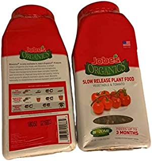 product image for JOBES Organics Slow Release Plant Food 1.2 LBS PK of 2