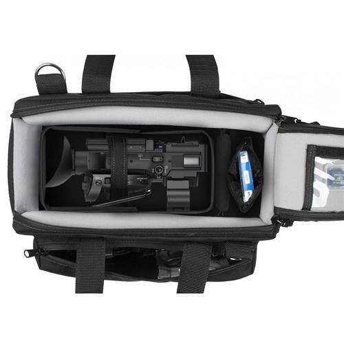 PortaBrace Semi-Rigid Lightweight Camera Case for Sony HXR-NX80 Ultra HD Camcorder Small