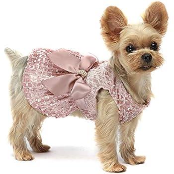 Amazon.com : Doggles Dog Harness Dress, Pink, Extra Small