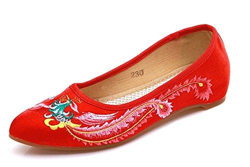 Lazutom Bailarinas Para Mujer Red
