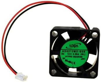 4-3//4 x 1 inch PartsCollection/® AirWave 120mm x 120mm x 25mm 12V Brushless DC Cooling Exhaust Fan