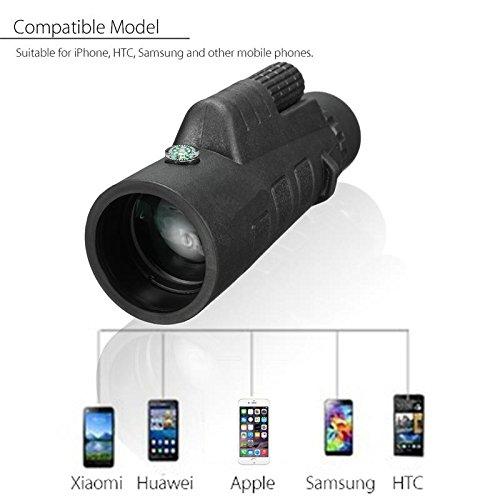 35x50 Zoom HD Optical Monocular Telescope Cell Phone