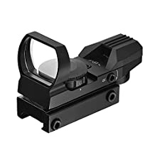 IFLYING LK-S04RG Red and Green Dot Tactical Reflex Sight with 4 Reticles for Shotgun Rifle and Pistol
