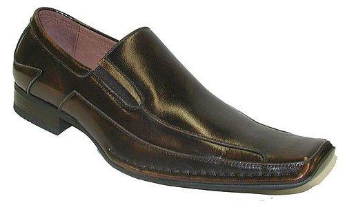 Giorgio Brutini Men's 159042 Slip-On Loafer,Brown,12 - 12 Brown Mens Loafers