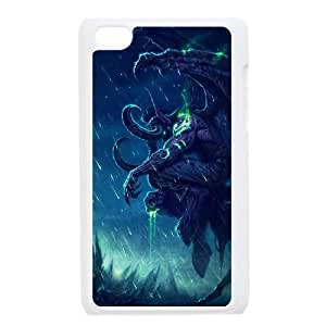 iPod Touch 4 Case White Illidan Stormrage Wow Cell Phone Case Cover N0A4MY