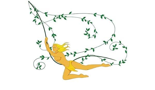 Apalis Vinilo de Ventana No.IS65 Tarzan, Dimensione:84cm x 105cm: Amazon.es: Hogar
