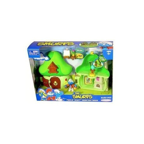 Smurf Mushroom - Smurfs - Painter Smurf Mushroom House