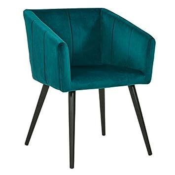 Manger Salle Chaise en à Tissu Décoshop26 Fauteuil Lounge qVpzULGMS