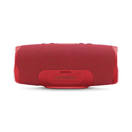 JBL Charge 4 – Waterproof Portable Bluetooth Speaker – Red