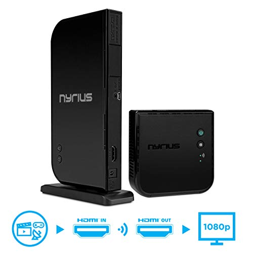 - Nyrius Aries Home HDMI Digital Wireless Transmitter & Receiver for HD 1080p Video Streaming, Cable Box, Satellite, Bluray, DVD, PS3, PS4, Xbox 360, Xbox One, Laptops, PC (NAVS500)