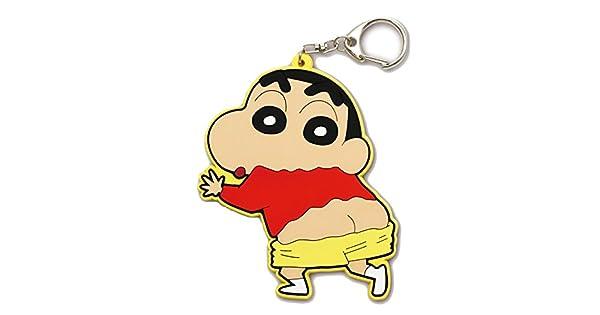 Amazon.com: Titular de la clave de goma Crayon Shin-chan ...