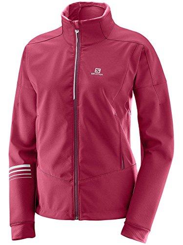 Salomon Veste Noir Warm Taille Red Standard beet Femme Red Lightning Shell 7q7rRf