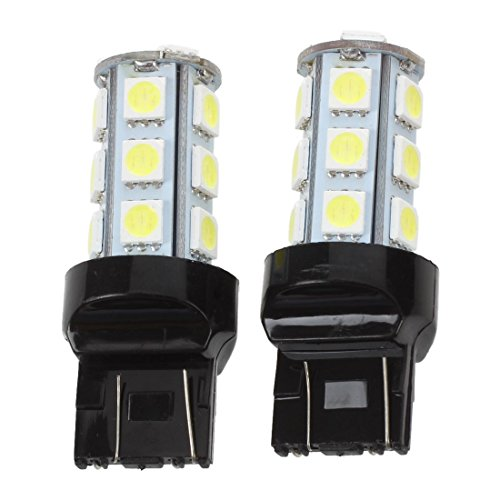 SODIAL(R) 2 Pcs 7443 7440 T20 White 18 LED 5050 SMD for sale  Delivered anywhere in Canada