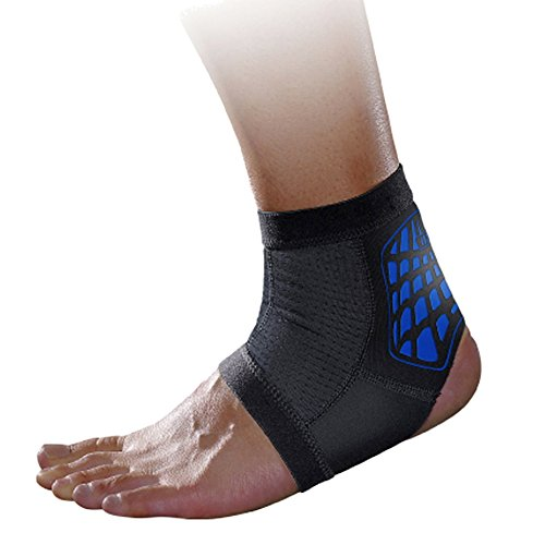 MLD Breathable Ankle Compression Sleeve Ankle Brace Support Socks Achilles...