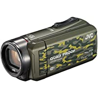 JVC video camera Everio R Wi-Fi support Built-in memory 64GB GZ-RX600-G (camouflage)
