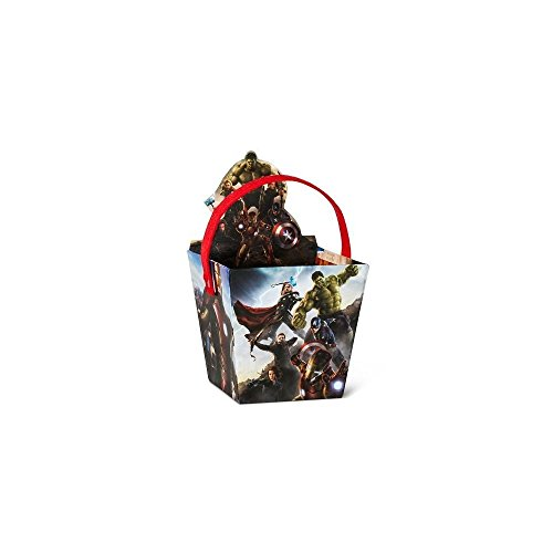 Home Comforts Avengers Cut Out Paperboard Easter Basket TRG 8492070616 ()