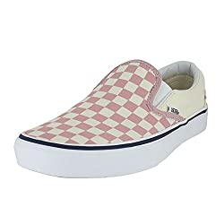 Vans Mono Classic Slip-on Checkerboard Zephyr Pink Sneakers Shoes 8.5 Mens10 Womens
