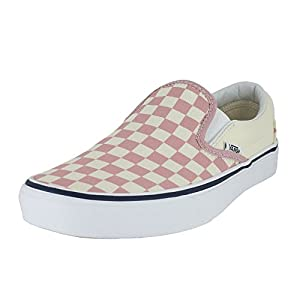 Vans Slip On Chex Skate Shoe (8.5 Women/7 Men, Checkerboard Zephyr 7281)