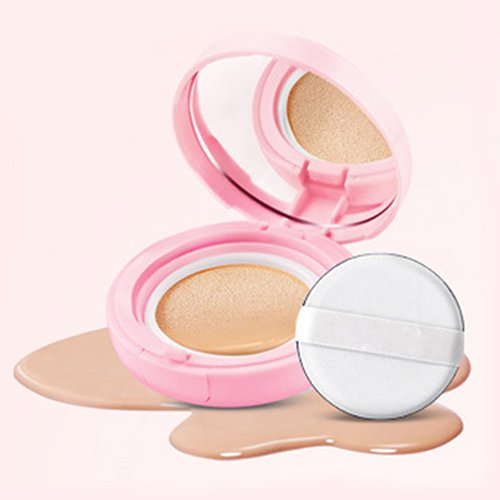 (BB Cream Air Cushion gLoaSublim Women Air Cushion Cream Flawless Concealer Cosmetic Makeup Liquid Foundation - Ivory 1)
