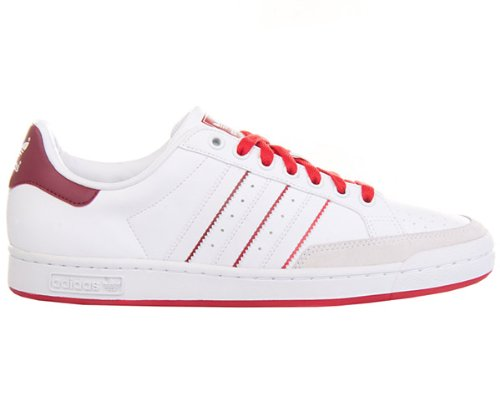 online store 10147 83a7c Adidas TENNIS PRO, Sneaker uomo, Bianco (Weiss (Weiss-Weiss-Rot