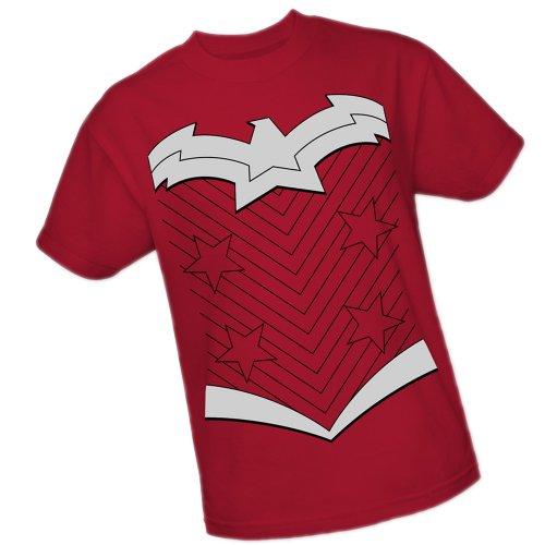 Wonder Woman Costume -- DC Comics - The New 52 Adult T-Shirt, Small