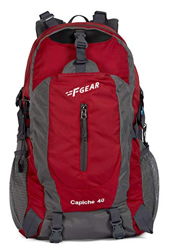 F Gear Capiche 51 cms Red Gry Rucksack (3134) Price & Reviews