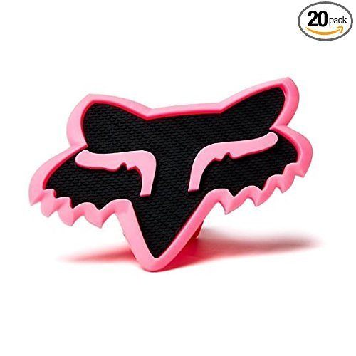 """Fox Racing PINK / BLACK Trailer Hitch Cover 2"""" #16124-285-NS"""