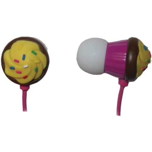 Maxell 190207 Chocolate Cupcake Earbuds