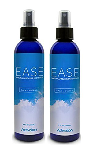 Activation Products, Magnesium Spray, Magnesium Deficiency, Joint and Muscle Pain, Leg Cramps, Eases Restless Legs 2Bottle Ct