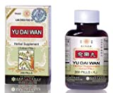 Yu Dai Wan Herbal Supplements from Solstice Medicine Company 200 Pill Bottle Review