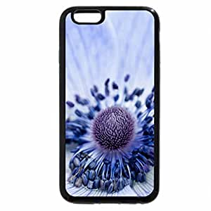 iPhone 6S / iPhone 6 Case (Black) Blue poppy