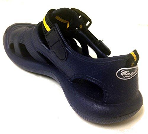E-2903ld Dames Klompen Sandalen Bandjes Water Slippers Slippers Schoenen Tuin Strand Zwembad Zwart, Bruin, Blauw, Kaki, Marine, Groen Marine