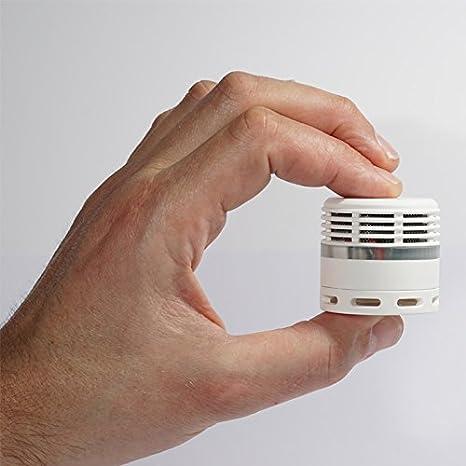 Mini detector de humo verde - 10 años batería: Amazon.es: Bricolaje y herramientas