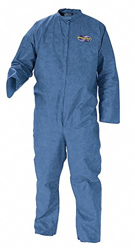 Kleenguard Disposable Coveralls with Open Material, Blue, 3XL 3XL Blue SMS 58536-1 Each