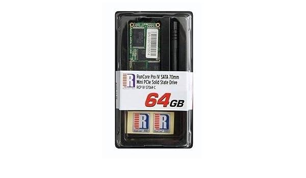 64 GB RunCore Pro IV 70 mm disco de estado sólido SSD de PCI ...