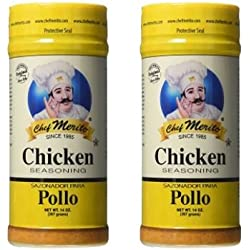 Chef Merito Chicken Seasoning, 14 Ounce (Pack of 2)