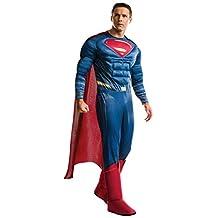 Rubies Costume Men's Batman Vs Superman Dawn of Justice Deluxe Superman Costume